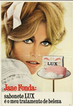 Ad with Jane Fonda from Brazil
