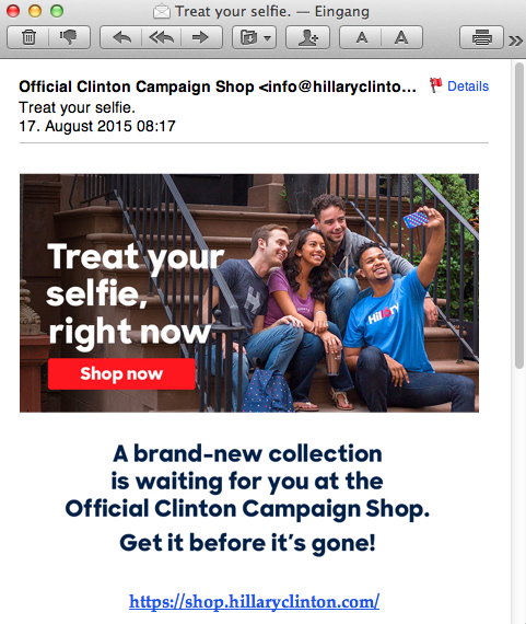Email 42 Hillary's campaign