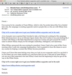 Hillary Clinton Email 22