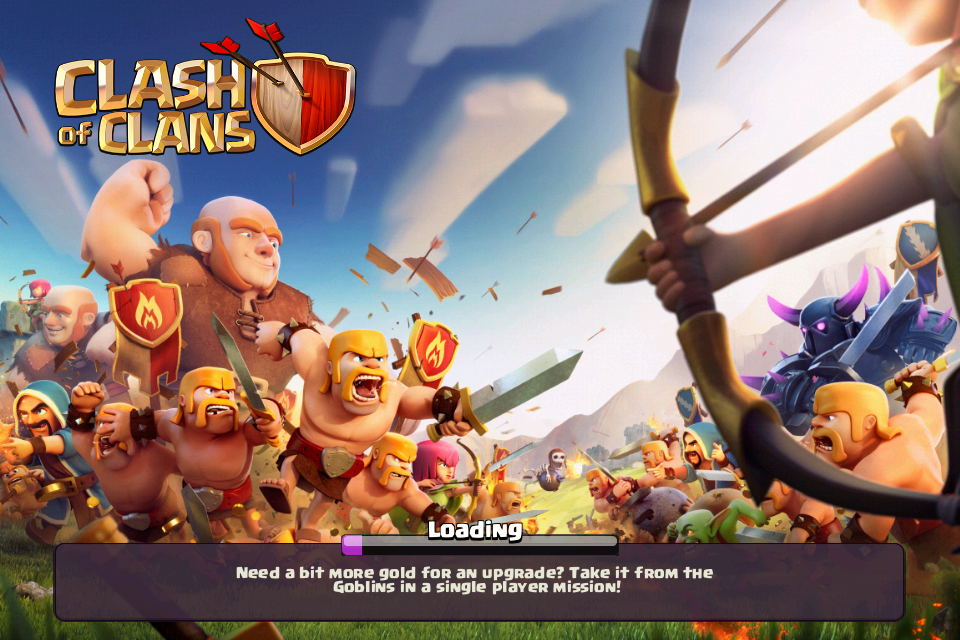 Clash of Clans described by a Millennial