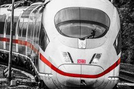Annoyed by German high-speed trains