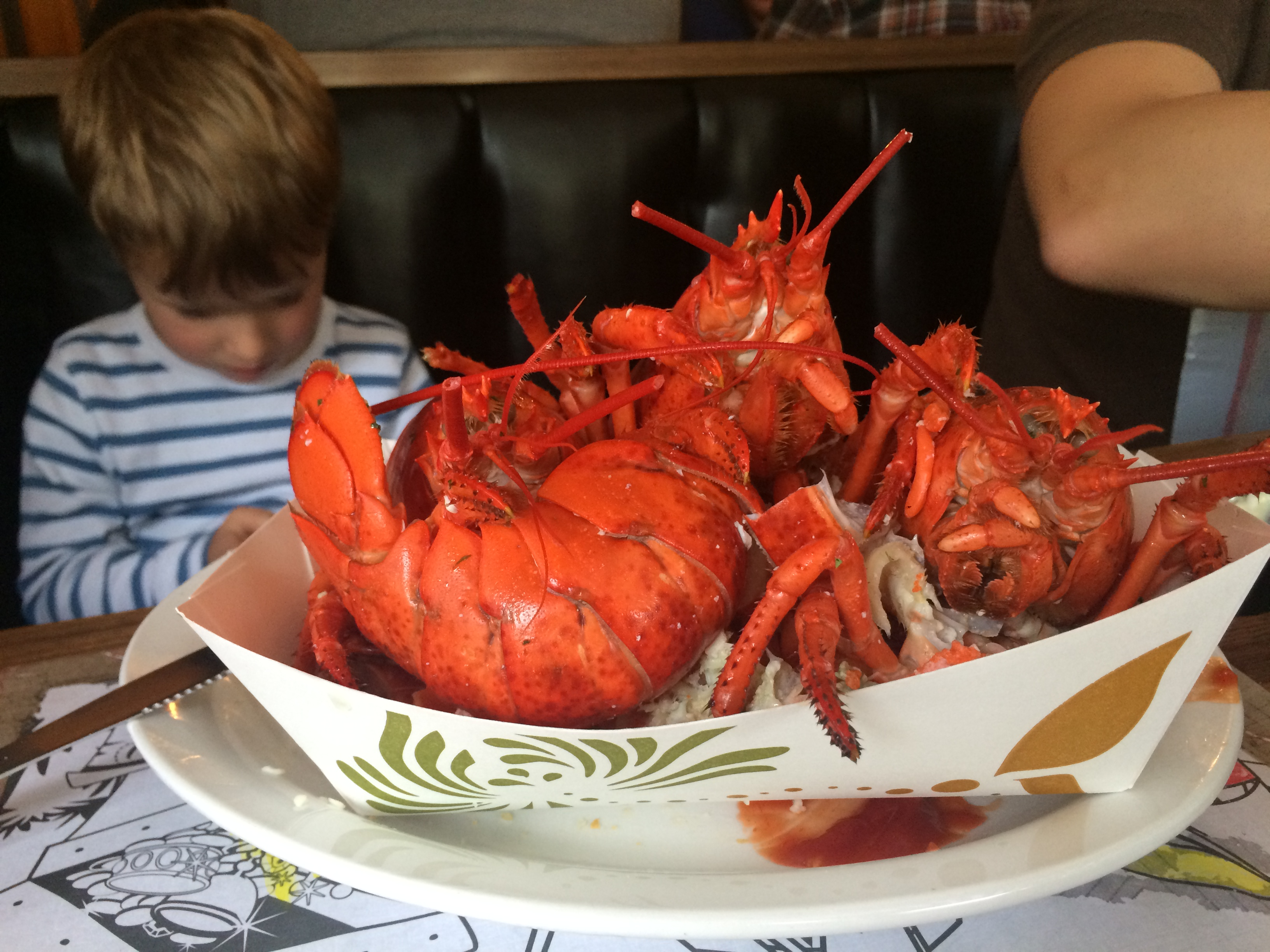 I love lobster. Luckily for me, I live in the US!