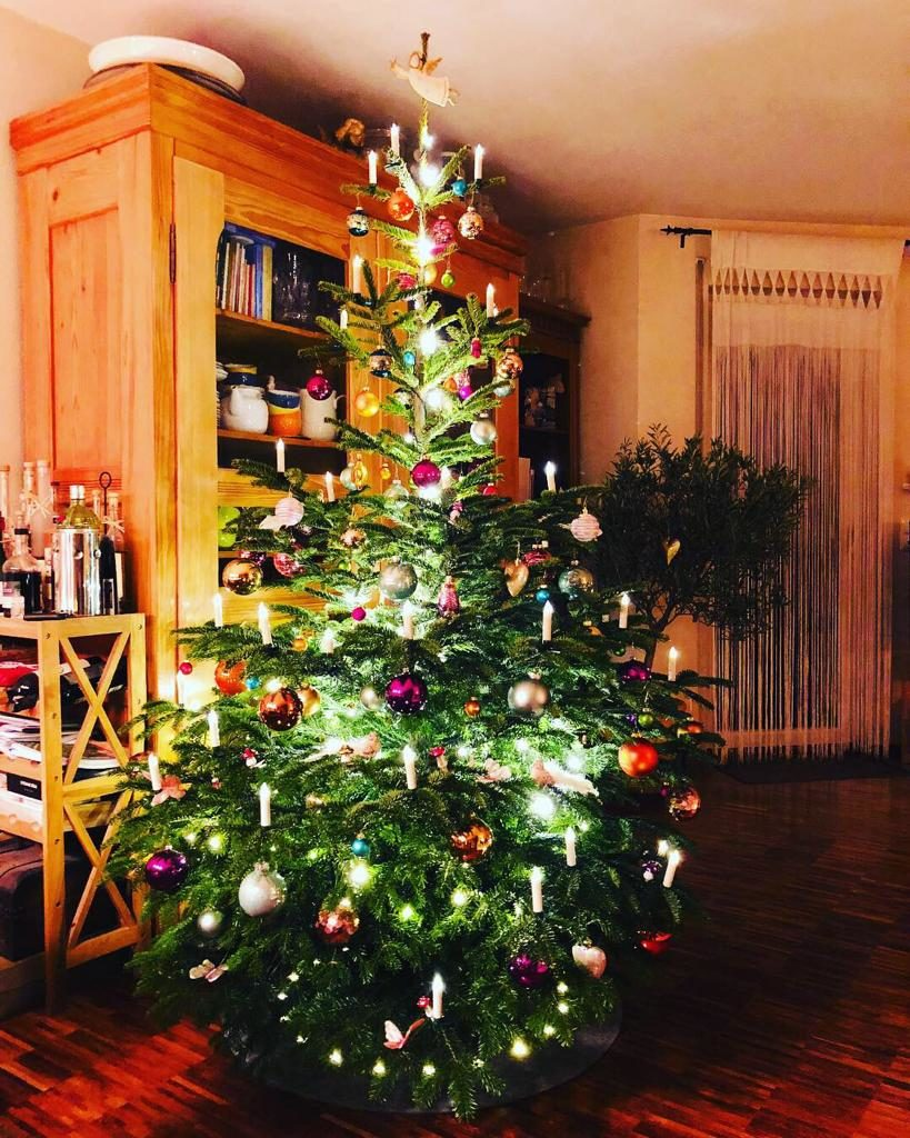 German Christmas Tree.Holiday Myth Christmas Pickles From Germany The Cross